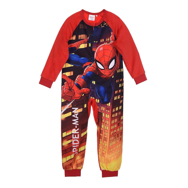 Pijama Entero Spiderman Talla 3: Amazon.es: Ropa y accesorios
