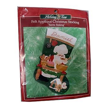 """Bucilla Floral 18 """"calcetín de Navidad"""" Papá Noel para horno ..."""