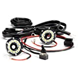 KC HiLiTES 355 Cyclone LED Universal 2-Light Under Hood Wiring Kit