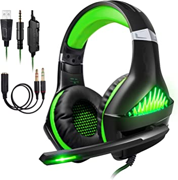 ShinePick Cascos para Xbox One, Auriculares Gaming PS4 con ...
