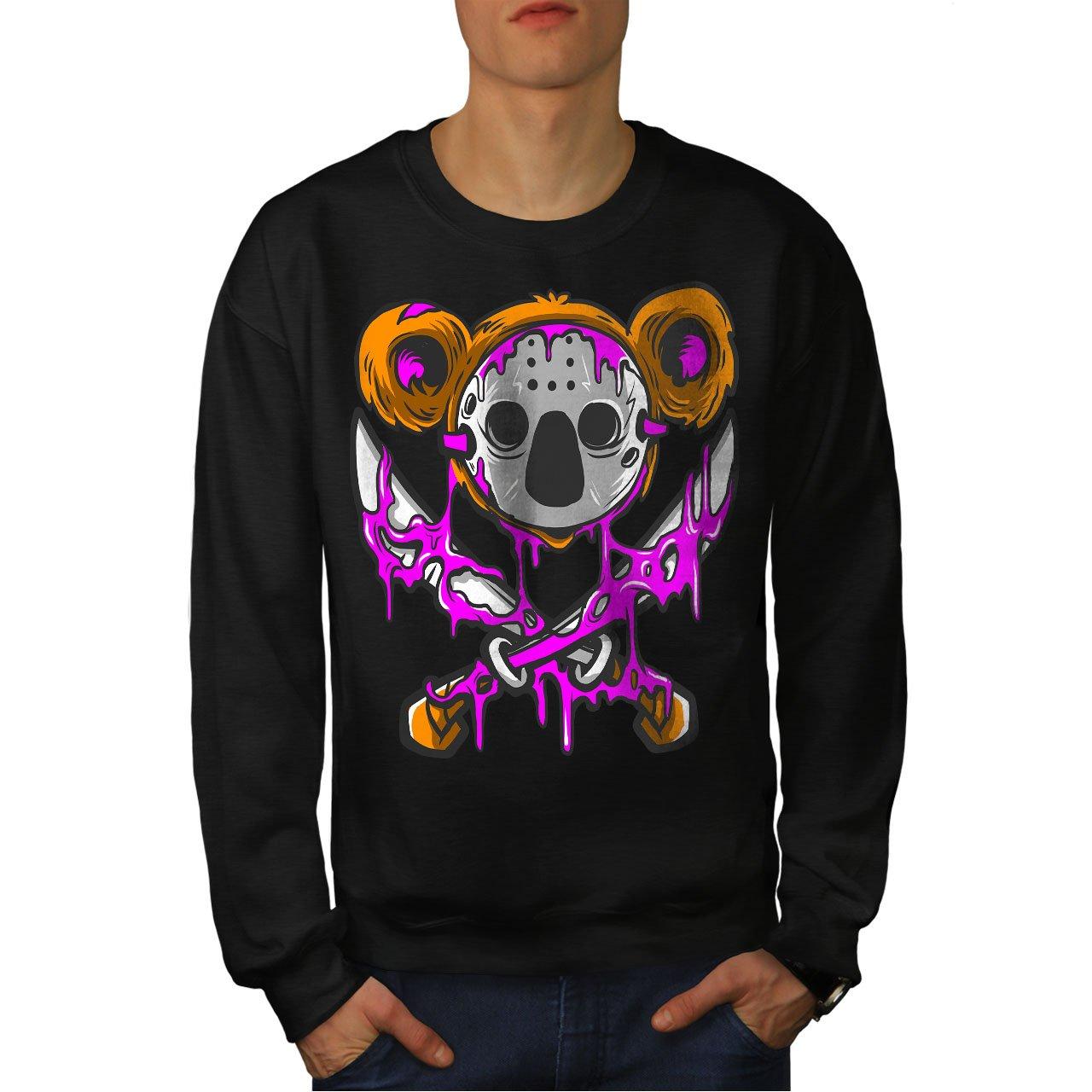 Cool Casual Jumper wellcoda Koala Murder Mens Sweatshirt