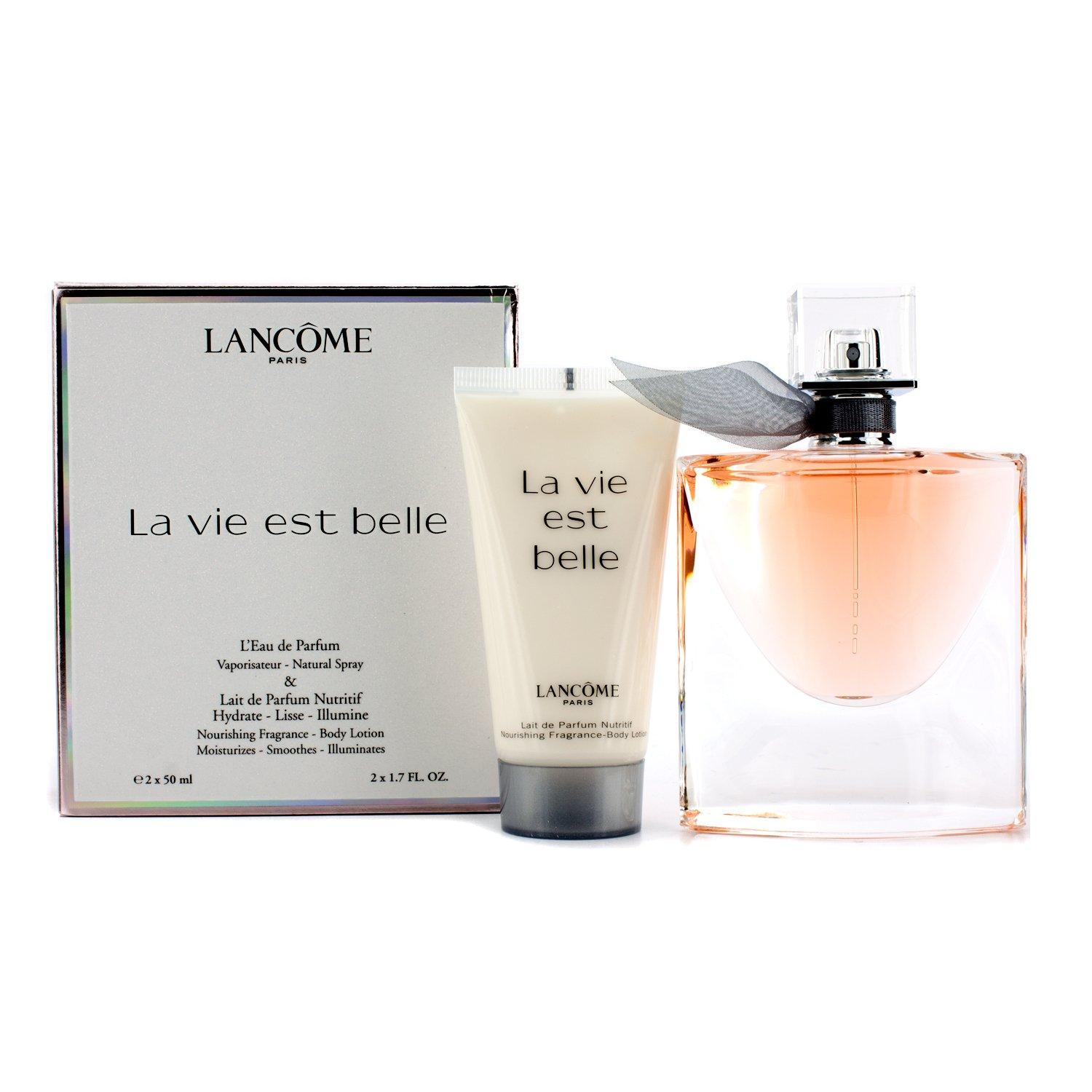 Lancome La Vie Est Belle for Women L'Eau de Parfum 50ml and Body ...