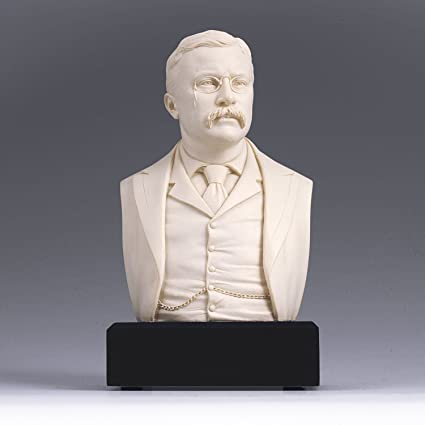 Amazon.com: Amazon Exclusive ! - Theodore Roosevelt Bust - Great ...