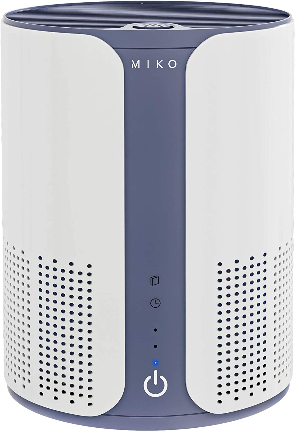 Miko Air Purifier for Home Air Filtration Efficiency, Multiple Speeds, Quiet, H11 True HEPA Filter Removes 99.97% of Hair, Fur, Dust, Bacteria, Viruses, Mold, Pollen, Allergens, Odor, 400 Sqft