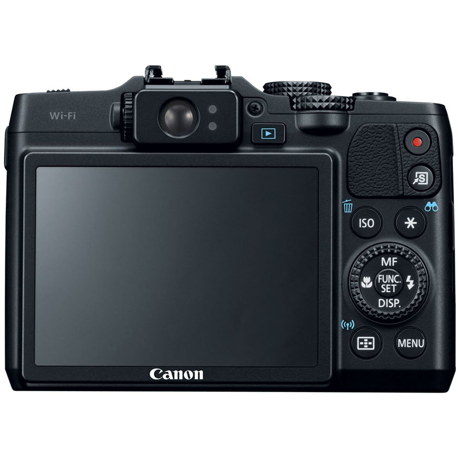Amazon.com : Canon PowerShot G16 12.1 MP CMOS Digital Camera with 5x  Optical Zoom and 1080p Full-HD Video Wi-Fi Enabled : Point And Shoot  Digital Cameras ...