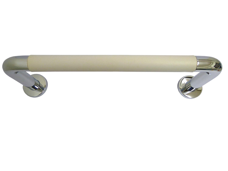 シロクマ パッドニギリバー(150mm) 【H150】450mm クローム/アイボリ NO-800 (手すり) B009VD7AS2 【H150】450mm|クローム/アイボリ クローム/アイボリ 【H150】450mm