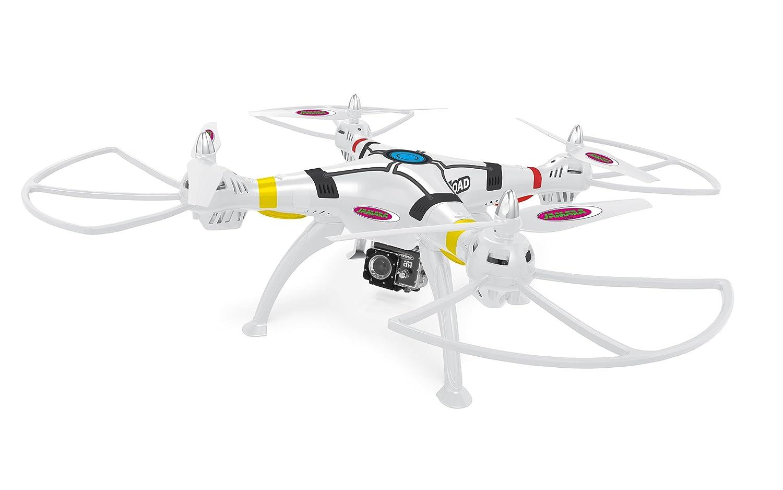 Jamara 422014 - Elicottero Radiocomandato Payload Altitude Fhd WiFi Ahp+Teleca Qua, Bianco
