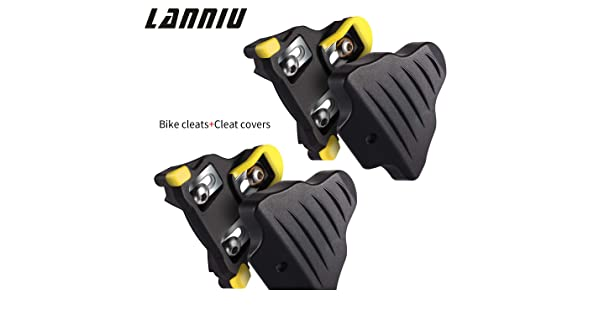 Road Bike Cleats Cleat Covers Set Fits Shimano SPD SL Cleats 6 Degree Float New