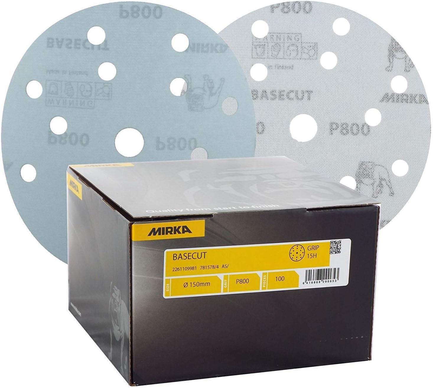 Mirka 2261105040 Basecut Grip 15l P40 150 Mm 50 Pro Pack Auto