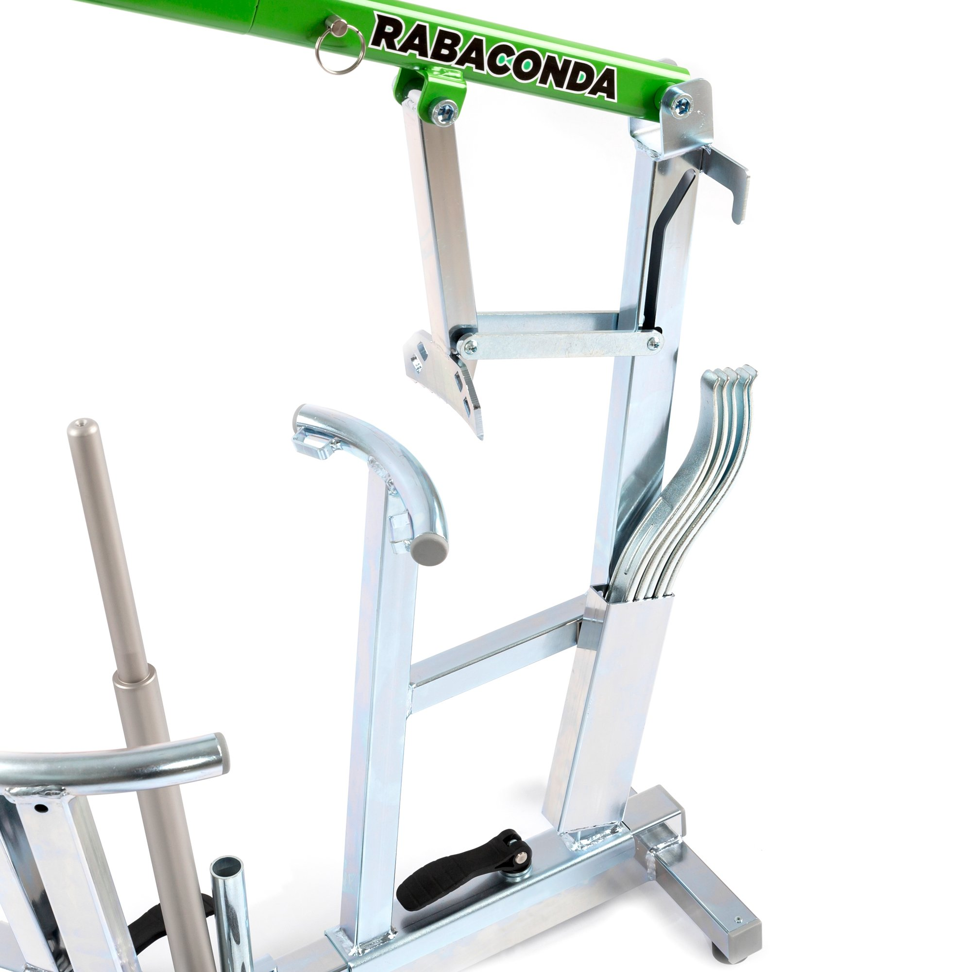 Rabaconda Motorcycle Tire Changer Machine - Fastest Tire Bead Breaker Among Motorcycle Tire Changing Tools by Rabaconda (Image #2)