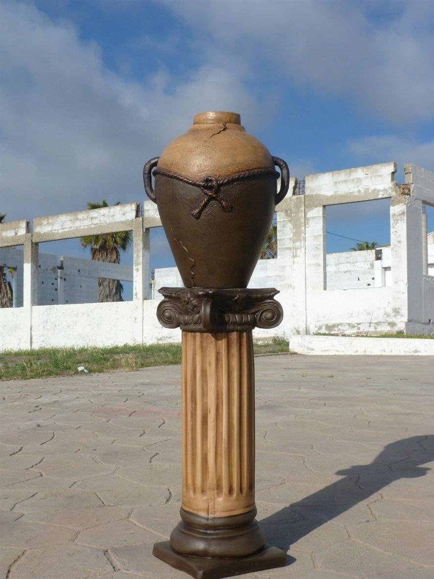 Greek Pedestal Column Art, Pillar platform for wedding decor, home decor