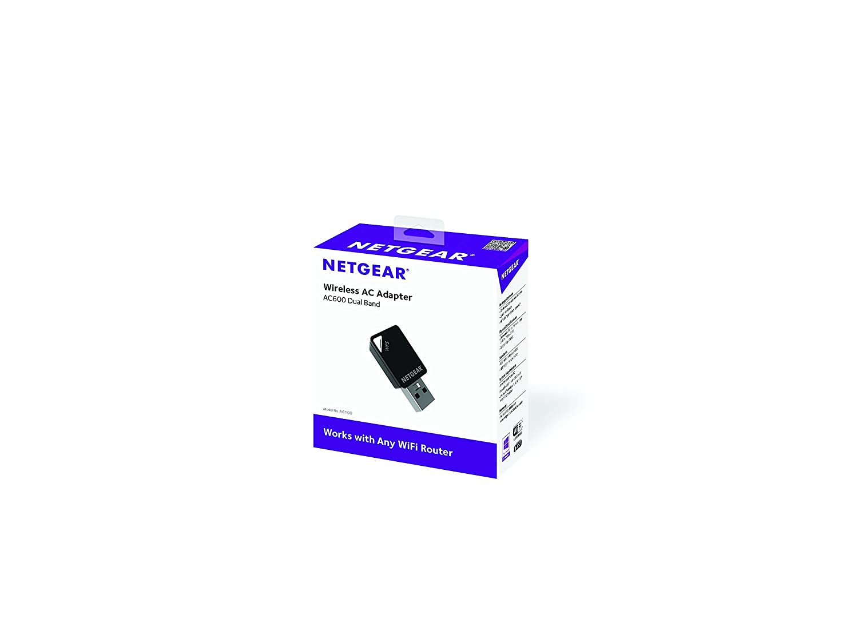 amazon com netgear ac600 dual band wi fi usb mini adapter a6100