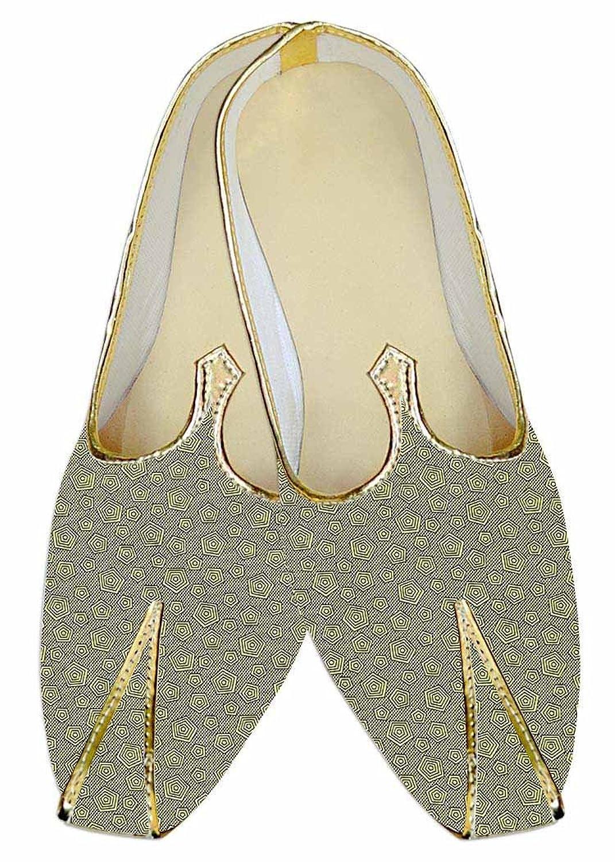 INMONARCH La Luz Verde del Hombres Boda Zapatos Patrón diHombresional MJ015279 -