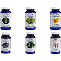 Hekma Center Supplements Package for Fibroids - 100% Natural Herbs, Vitamins, and Dietary Supplements for Fibroids - Pure Organic - Vegan - Fibroid
