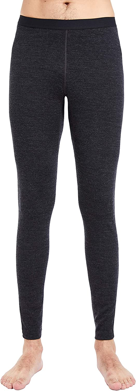 Warm Winter Men/'s 100/% Merino Wool Thermal 260g Base Layer Bottom Underwear Leggings