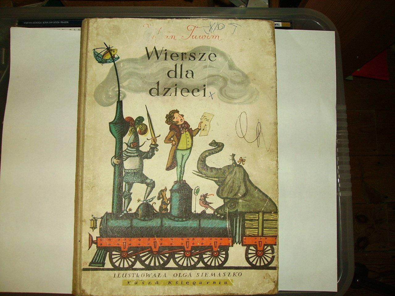 Wiersze Dla Dzieci Julian Tuwim Olga Siemaszko Amazoncom