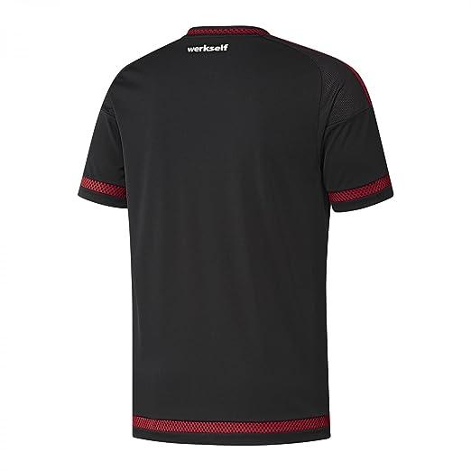 Adidas 1ª Equipación Bayer Leverkusen 2015/2016 - Camiseta Oficial: Amazon.es: Deportes y aire libre