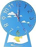 ヤマト工芸 CHILD clock (振り子時計) はと ライトブルー YK14-104