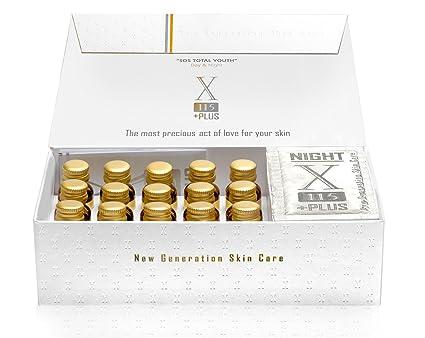 X115®+Plus Colágeno e Ácido hialurónico Suplemento antiarrugas ** + Muestra gratis 5ml