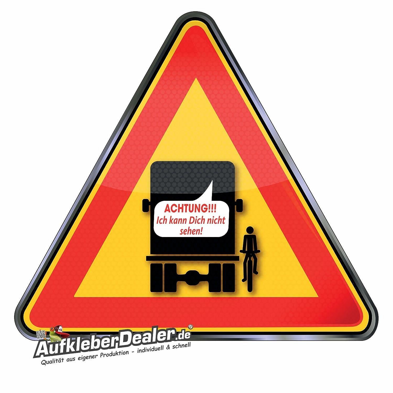 Toterwinkelaufkleber Warnzeichen Sicherheitsaufkleber Für Lkw Und Busse Toter Winkel Aufkleber Warnzeichen Sicherheitsaufkleber Dieser Aufkleber Für Den Lkw Oder Für Busse Baby