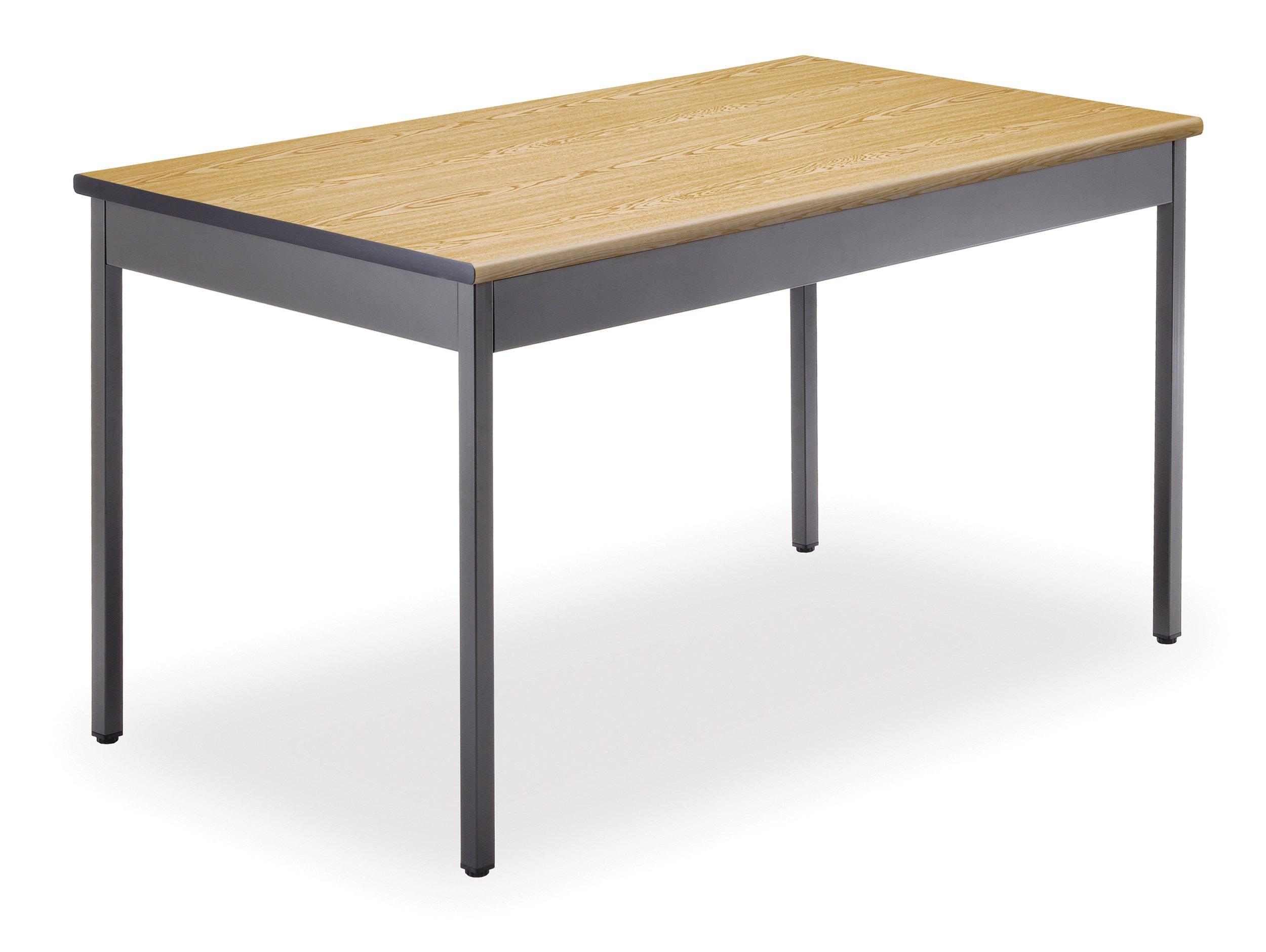 OFM UT3048-OAK Utility Table, 30 by 48-Inch, Oak by OFM