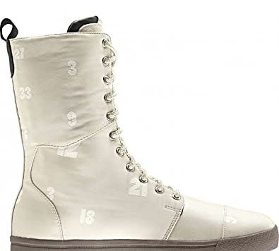 Adidas Originals Damen BLUE COMBAT Stiefel  Beige  G51490