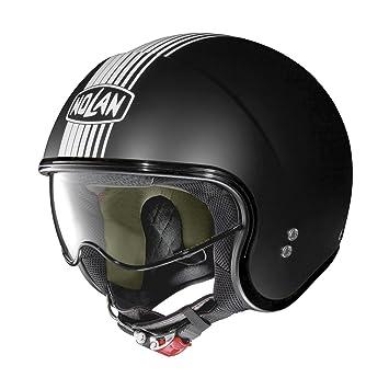 Nolan Jet Casco N21 Joie de vivre Negro Mate Moto Casco Casco