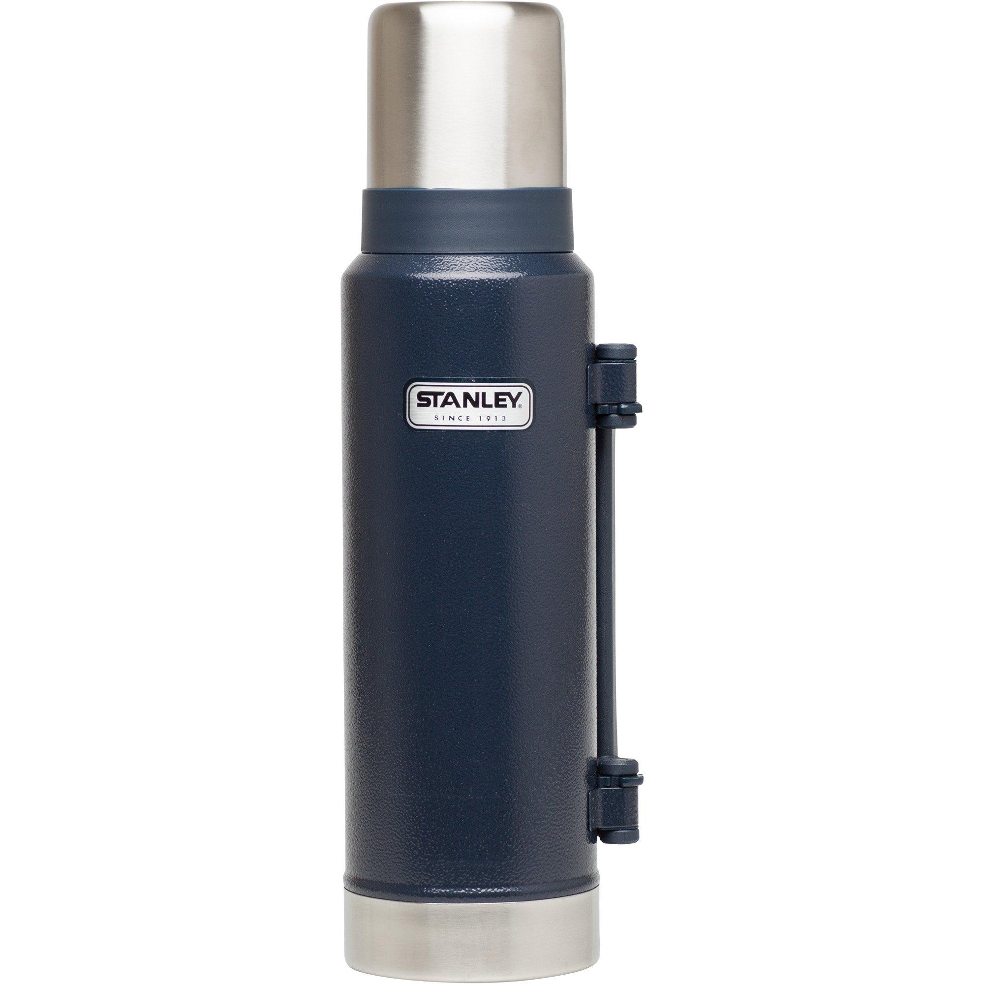 Stanley Classic Ultra Vacuum Bottle, Hammertone Navy, 1.4 Quart by Stanley (Image #1)