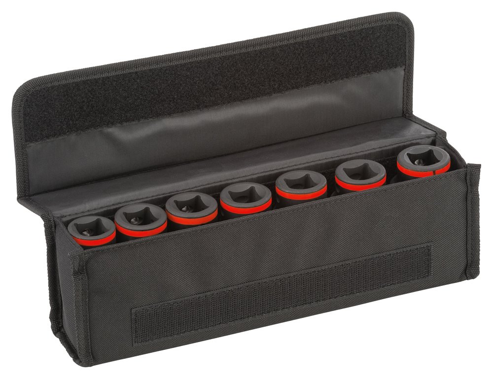 Bosch 2608551100 Set de 9 Douilles adaptables 1/2 - Inch