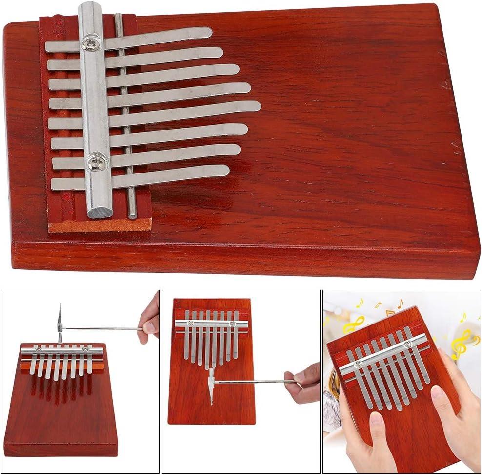 Instrumentos musicales pulidos, Kalimba Thumb Piano, Sonido ...