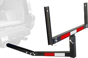 MaxxHaul 70231 Hitch Mount Truck Bed Extender (For Ladder, Rack, Canoe, Kayak, Long Pipes and Lumber)