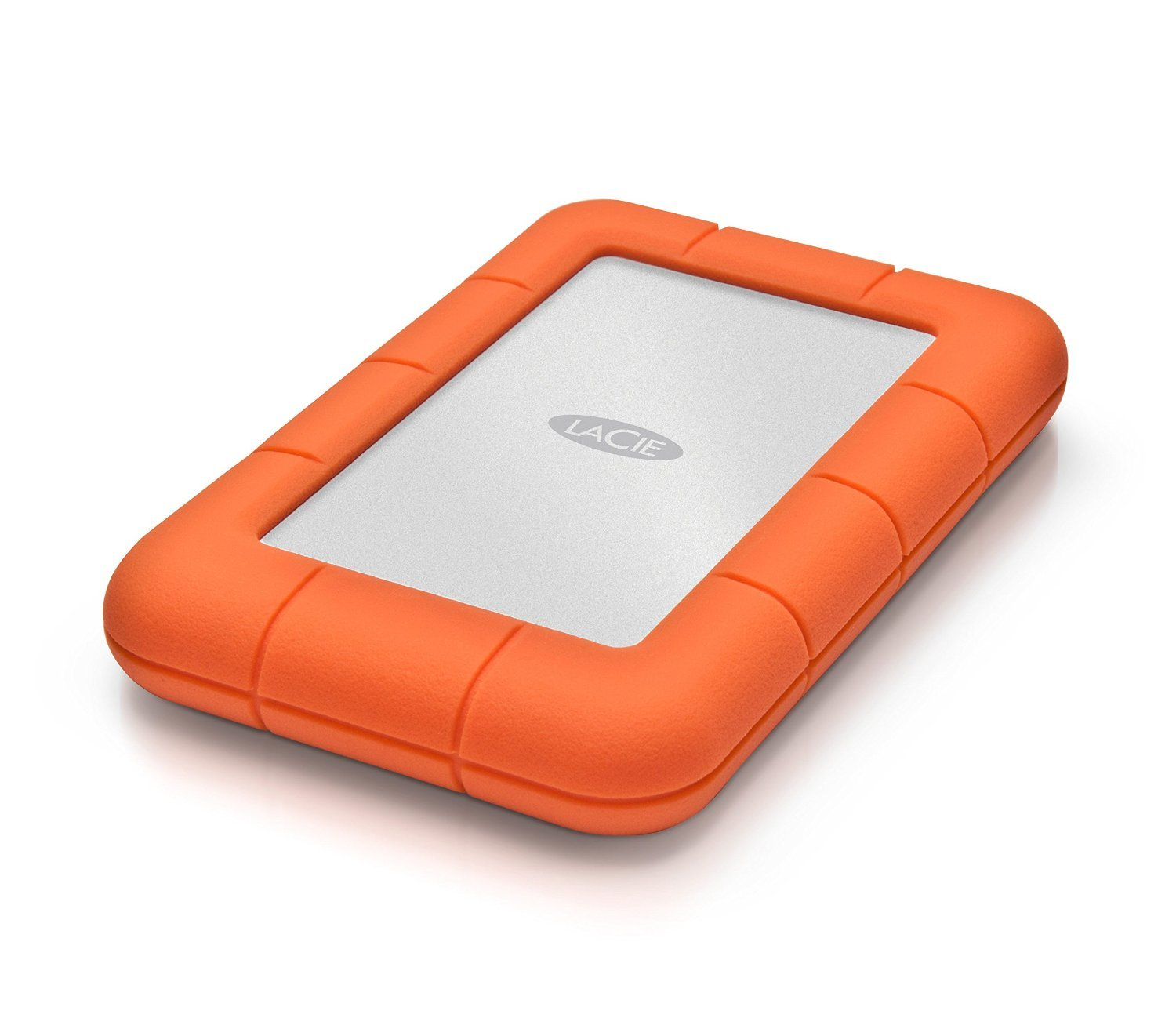 LaCie Rugged Mini USB 3.0 / USB 2.0 2TB External Mobile Hard Drive 9000298 with Ivation Compact Portable Hard Drive Case by Calumet (Image #3)