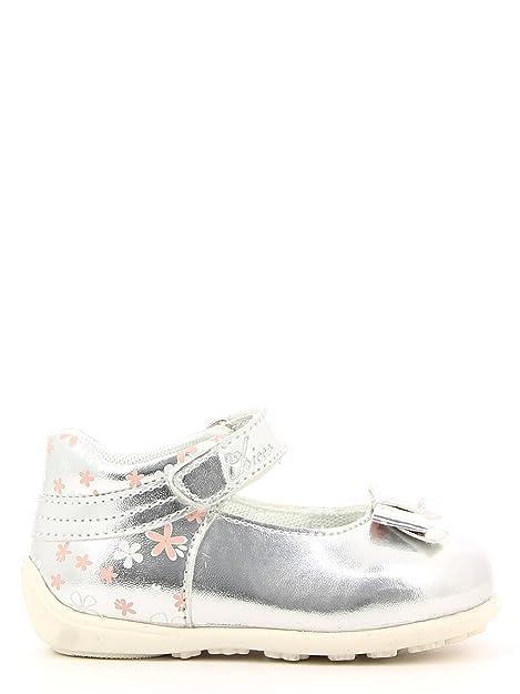 Chicco - Mocasines para niño Plateado Plata 18: Amazon.es: Zapatos y complementos