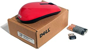 Dell Red Wireless Mini Mouse with Receiver WM311-RED