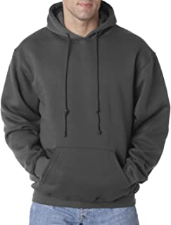 product image for Bayside Men's Front Pouch Pocket Hooded Sweatshirt