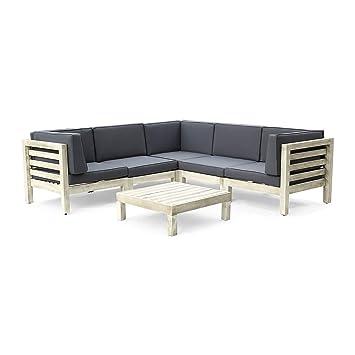 Fine Amazon Com Great Deal Furniture Dawson Outdoor V Shaped Short Links Chair Design For Home Short Linksinfo