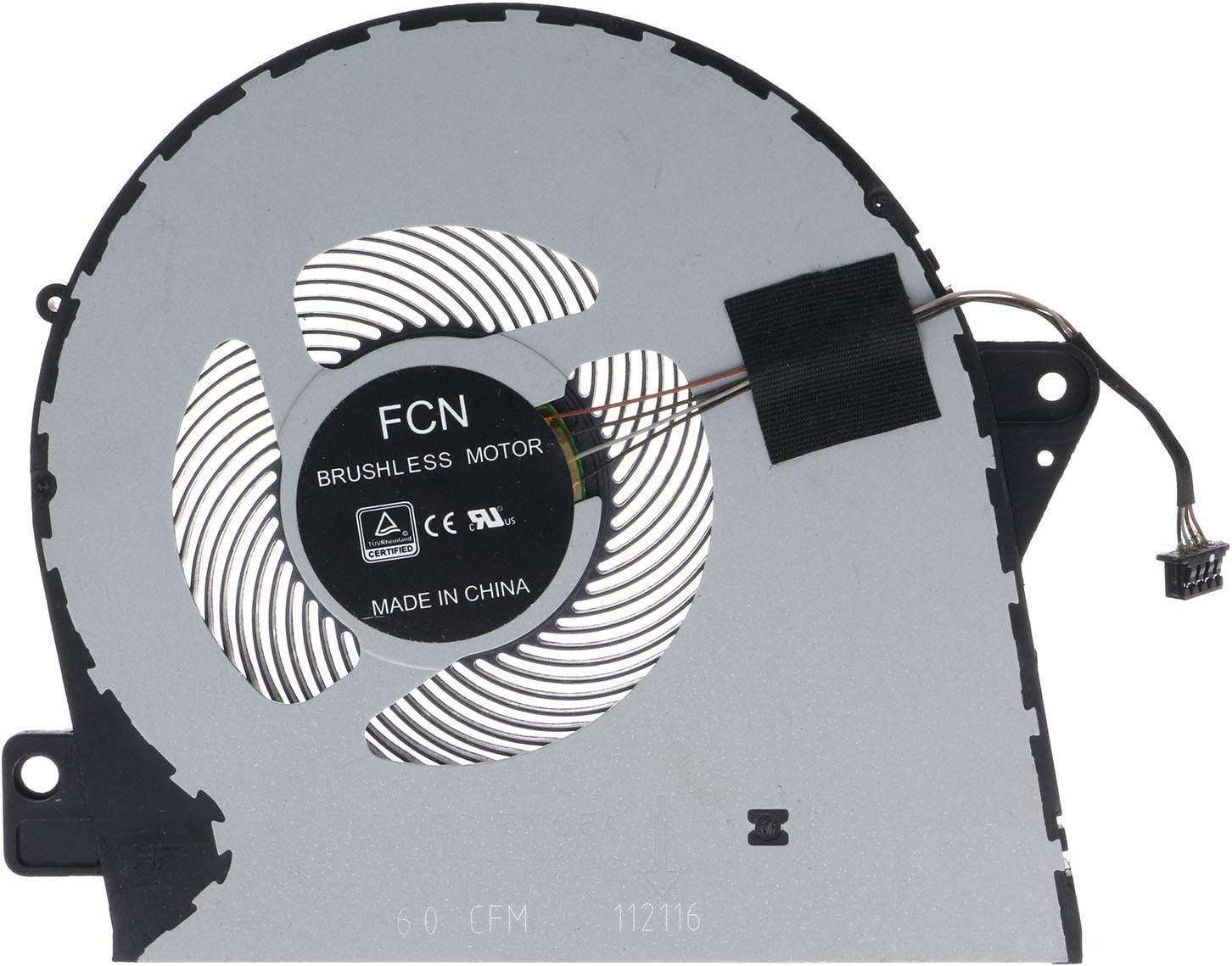 CPU Cooling Fan for DELL Latitude 5580 E5580 Precision 3520 M3520 03NDV7 3NDV7