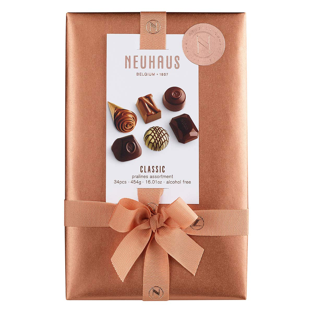 Neuhaus Belgian Chocolate Ballotin (34 pieces) - Gourmet Chocolate Gift Box - 1 lb