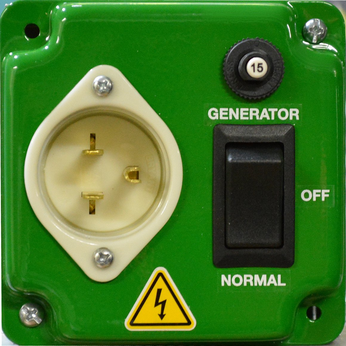 EZ GENERATOR SWITCH - Generator Manual Transfer Switch UNIVERSAL UL/CSA approved by EZ Generator Switch