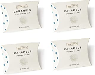 product image for 4-Pack McCrea's Candies Cape Cod Sea Salt Candy Pillow Boxes - Handcrafted in Boston