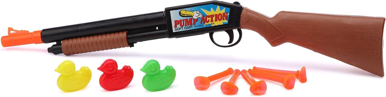 Kim'Play 69 - Rifle de Aire comprimido con Dardos de Ventosa y Patos de plástico