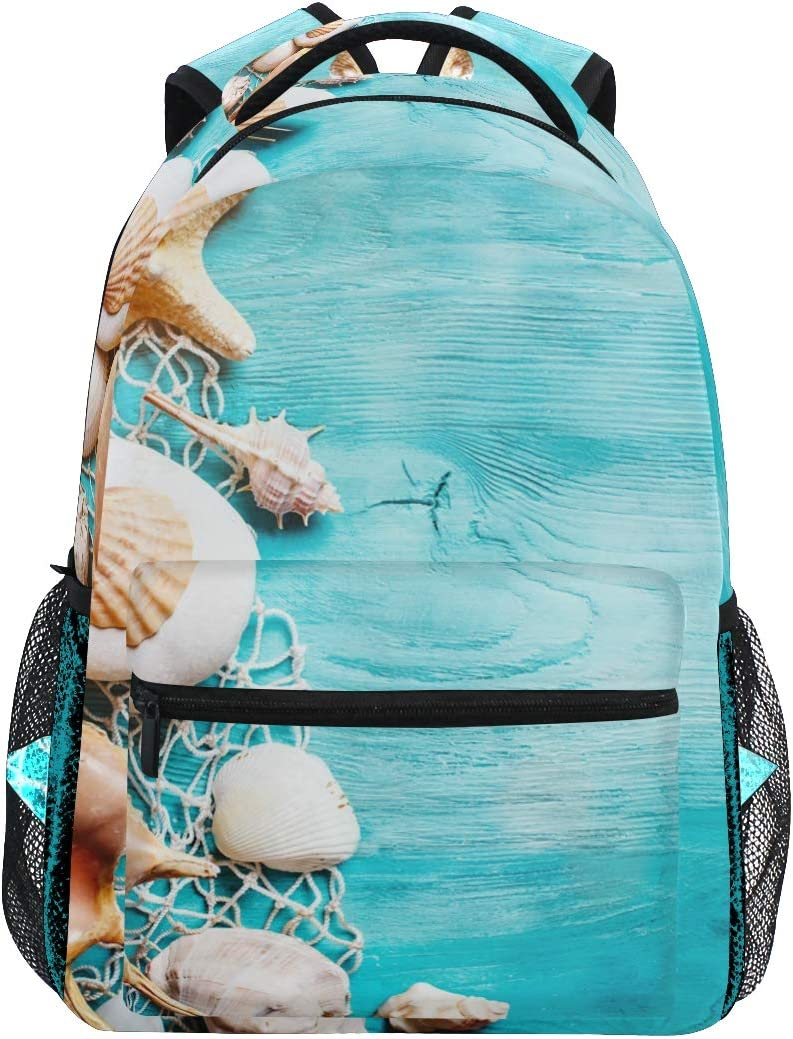 Travel Laptop Backpack,Turtles Sea Stars Corals Wallpapers WaterResistant College School Computer Bag Gifts for Men /& Women Fits 17 Inch Notebook