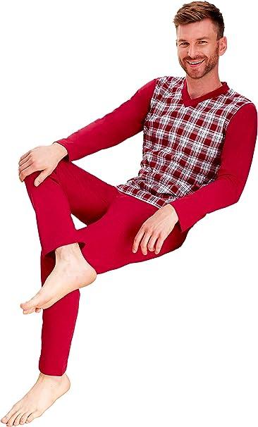Bigsize Pijamas Para Hombres Pijamas 100 Algodon Ropa De Noche Tallas Grandes 3xl 4xl 5xl 6xl Amazon Es Ropa Y Accesorios