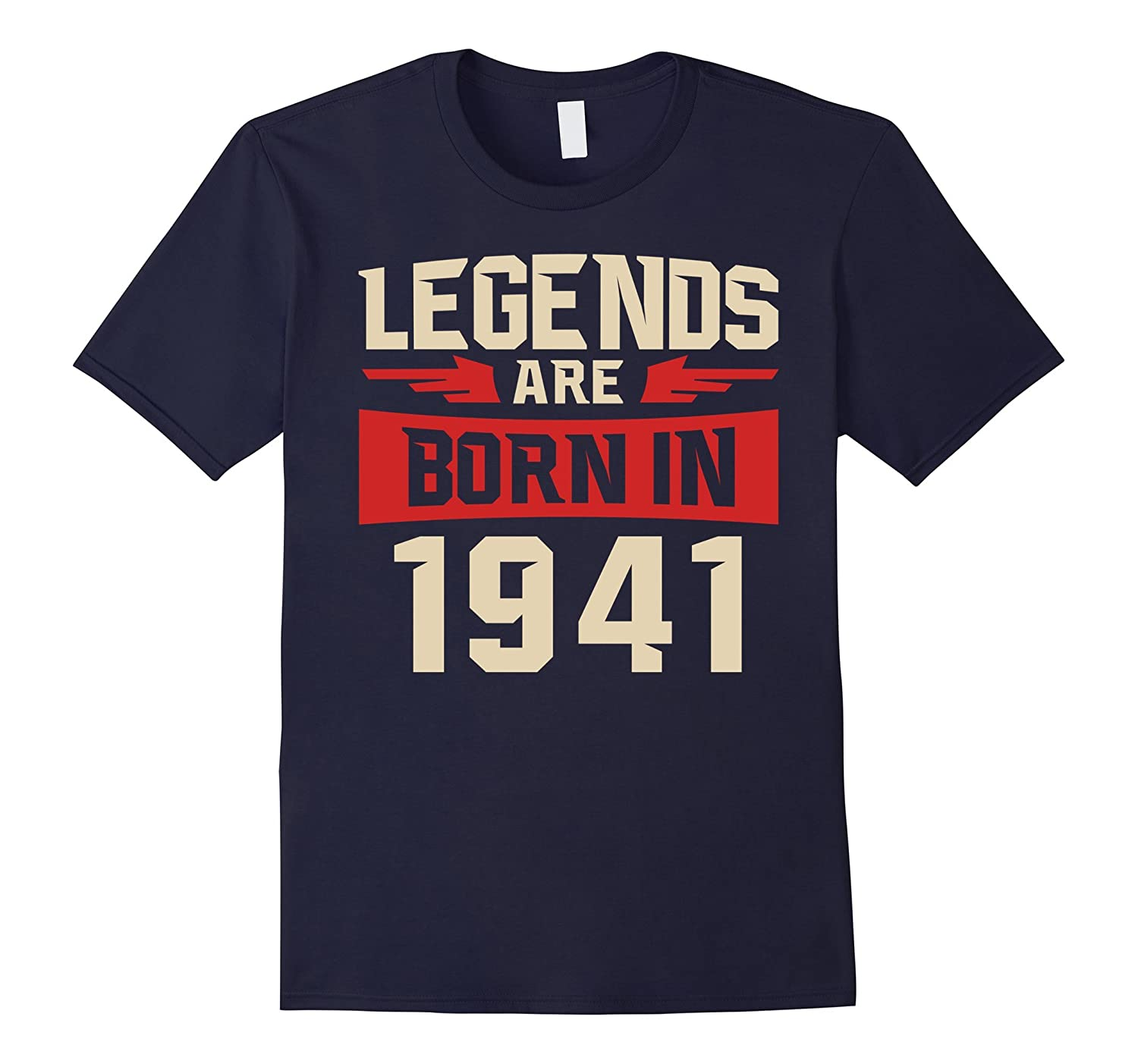76 years old 76th Birthday B-day Gift Legends 1941 T Shirt-PL