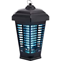 Bug Zapper Mosquito Trap Fly Killer, Electric Insect Lamp 4000v Catcher for Flies Waterproof Outdoor Indoor, Electronic…