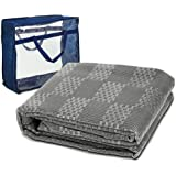7 x 2.5m Camping Picnic Mat WEISSHORN Annex Matting Ground Floor Mat with Carry Bag for Camping Hiking Climbing Caravan Parks,Grey