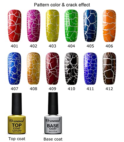 what is cracked nail polish