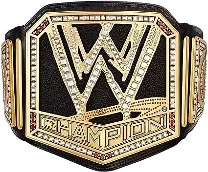 WWE Authentic Wear Unisex WWE World Heavyweight Championship Commemorative Title Belt One size Multicoloured 2014