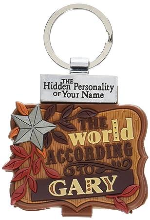 Amazon.com: World According to Keyring Book Gary Key Chain ...