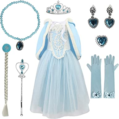 Adult Princess Cinderella Blue Fancy Dress Cosplay Costume Party